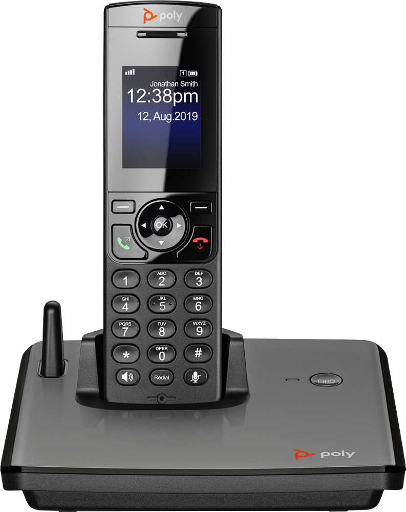 VVX D230 DECT IP Phone - Product Photography