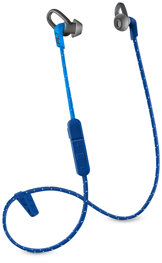 BackBeat FIT 305, Dark Blue, includes sport mesh pouch