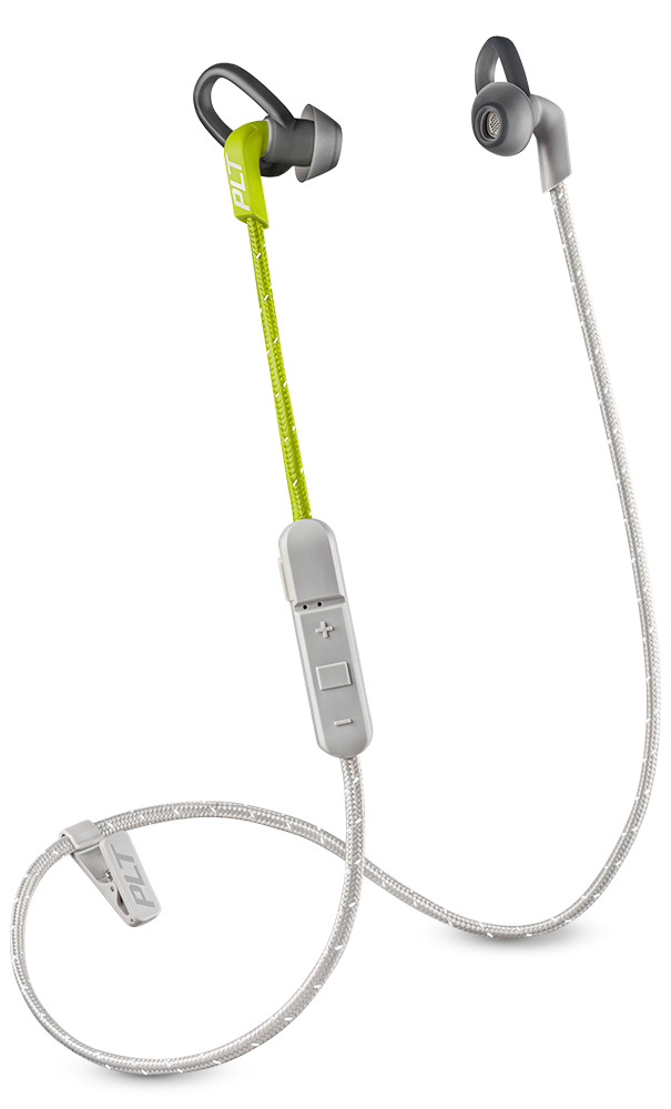 BackBeat FIT 305, Lime Green, includes sport mesh pouch