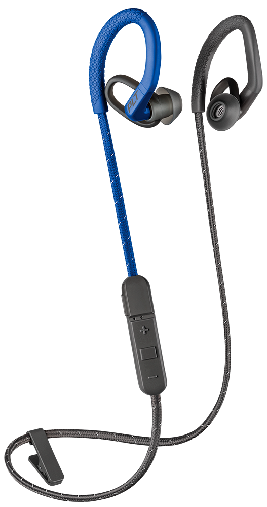 BackBeat FIT 350, Gris/Bleu