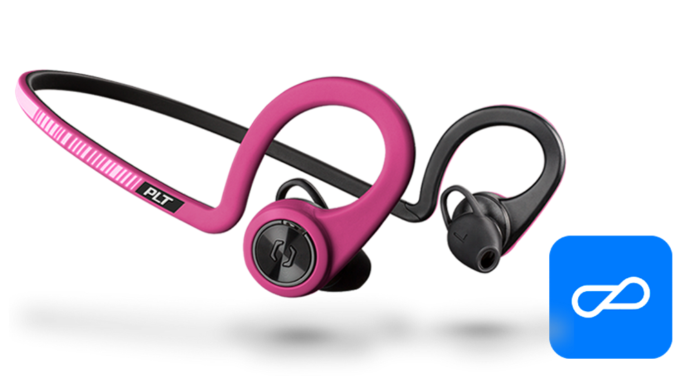 BackBeat FIT Training Edition, Fit Fuchsia