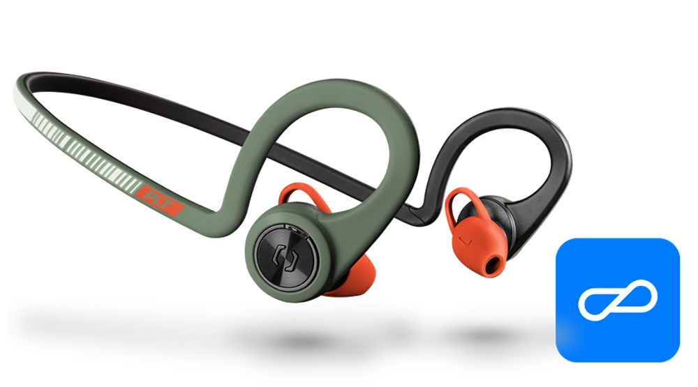 BackBeat FIT Training Edition, Stealth Green