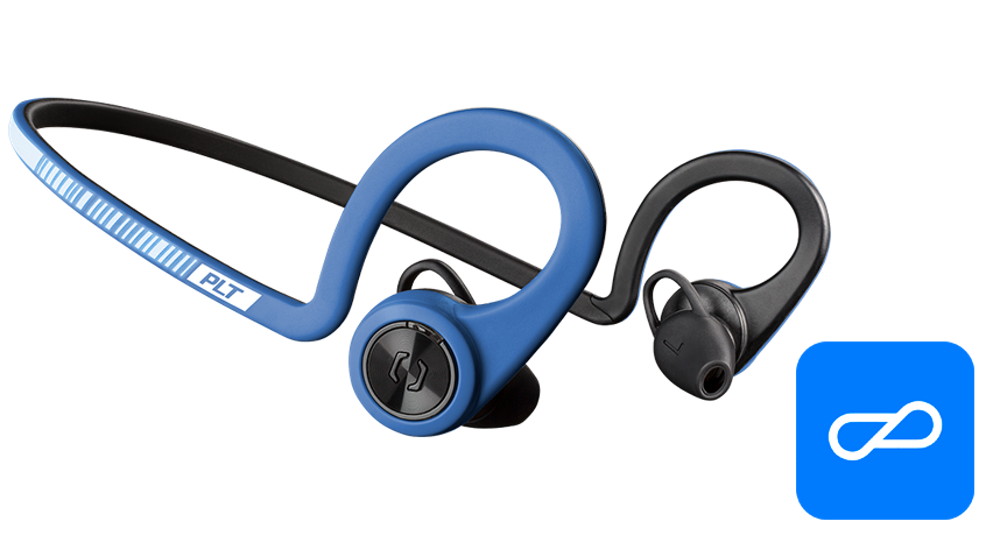 BackBeat FIT Training Edition, Power Blue