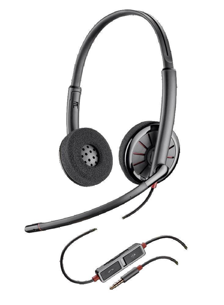 Blackwire225, serre-tête, binaural, standard