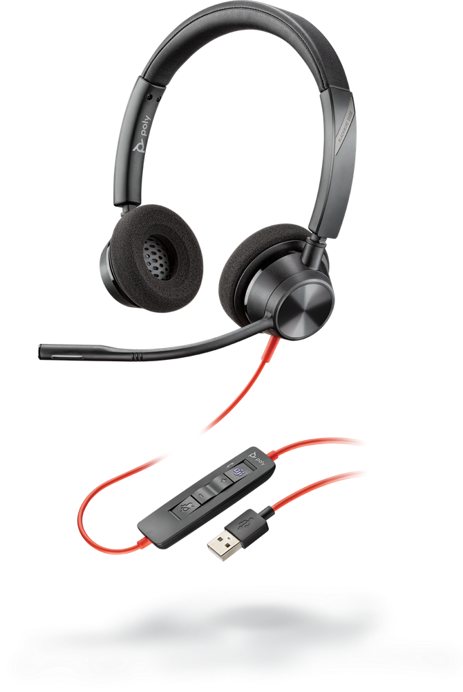 Blackwire 3320, USB-A