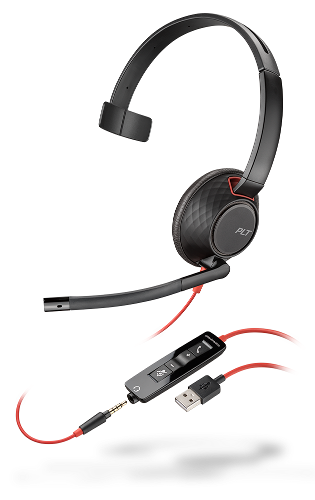 Blackwire 5210, Monaural, USB-A