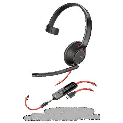 Blackwire 5210, Monaural, USB-C