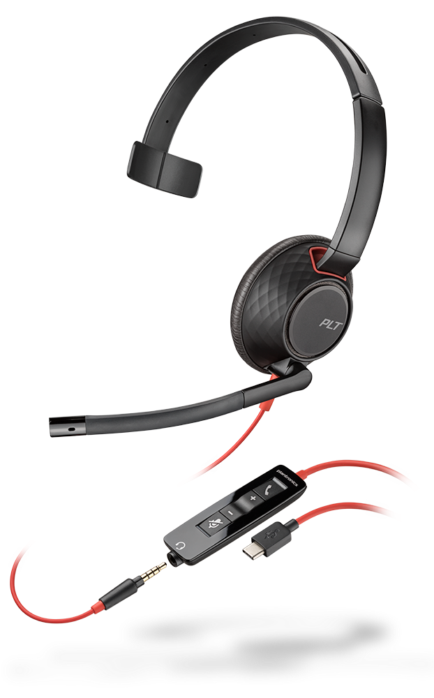Blackwire 5210, Monaural, USB-C