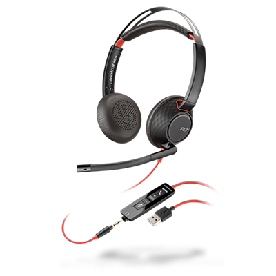 Blackwire 5220, Stereo, USB-A