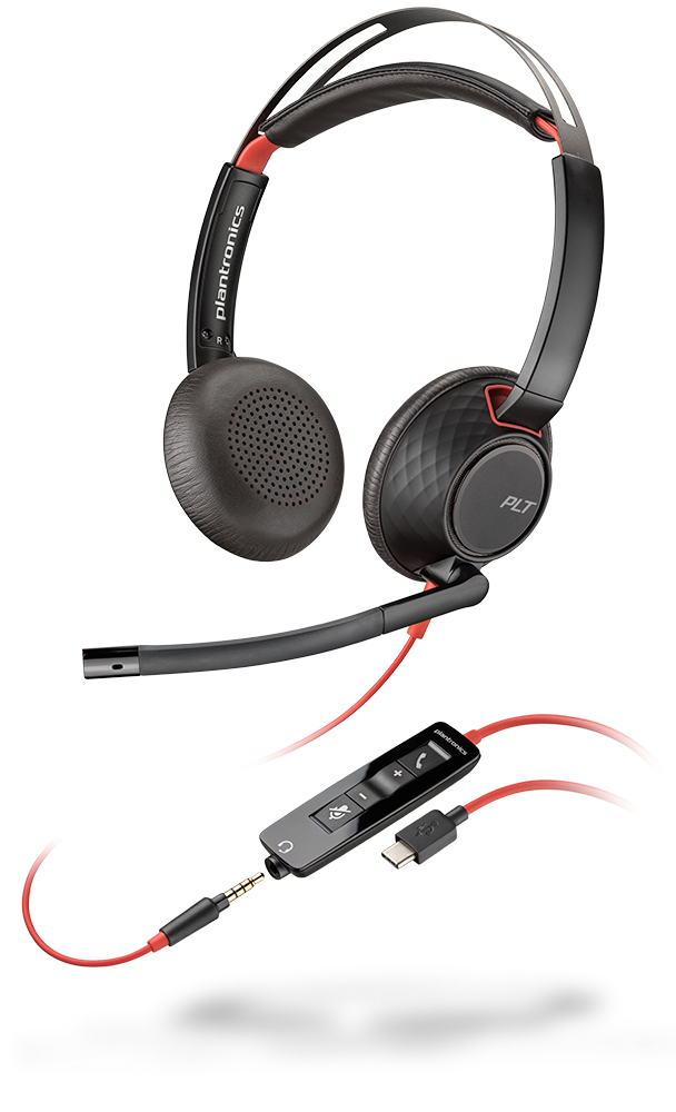 Blackwire 5220, Binaural, USB-C