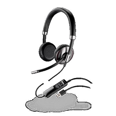 Blackwire 720, Over-the-head, Binaural, Standard