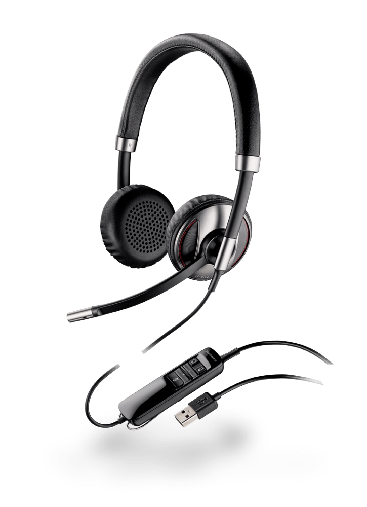 Blackwire 720, Over-the-head, Binaural, Microsoft