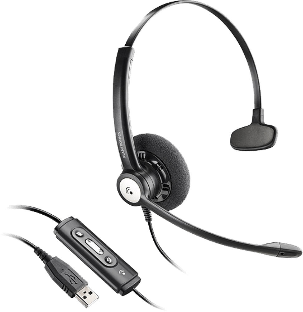 Blackwire 610, Over-the-head, Monaural, Microsoft