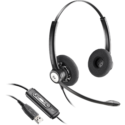 Blackwire 620, Kopfzeilenträgerlösung, binaural, Standard