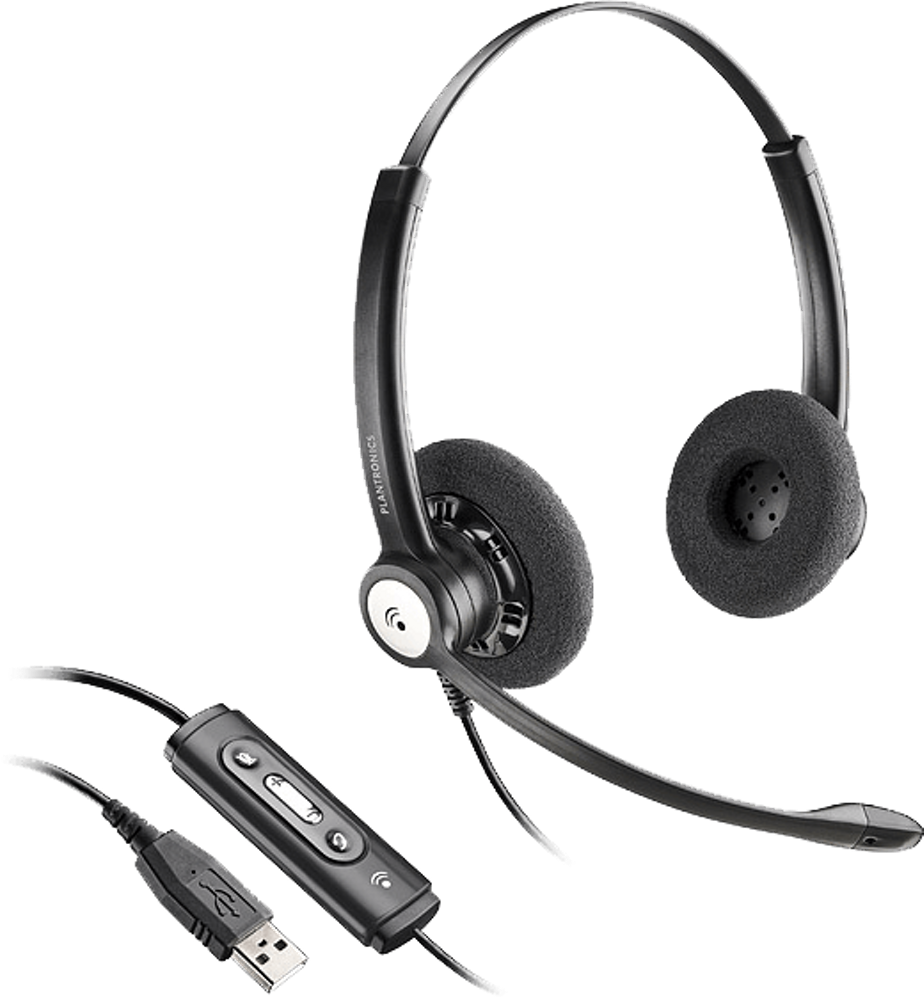 Blackwire 620, Over-the-head, Binaural, Microsoft