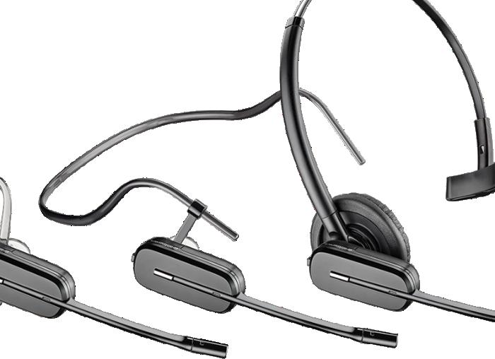 Cs540 Convertible Wireless Headset Poly Formerly Plantronics Polycom