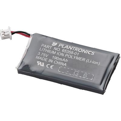 CS50、CS55 和 CS50-USB 的耳机电池