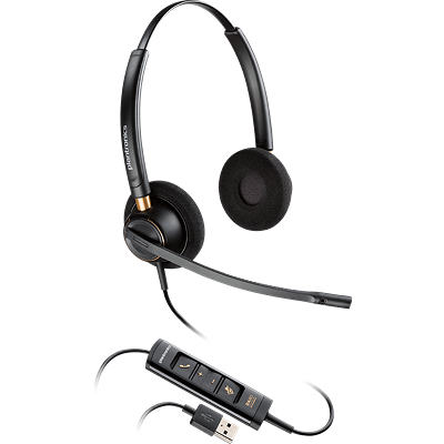 EncorePro 525 Over-the-head, Stereo, Noise-Canceling