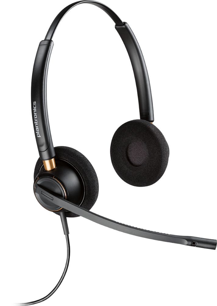 EncorePro 520, Over-the-head, Binaural, Noise-Canceling