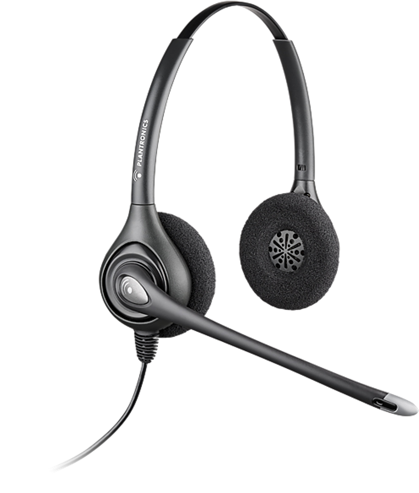 H261N-CD: Binaural, Over-The-Head, Ear Muff Receiver, noise canceling microphone, 4 pin Quick Disconnect