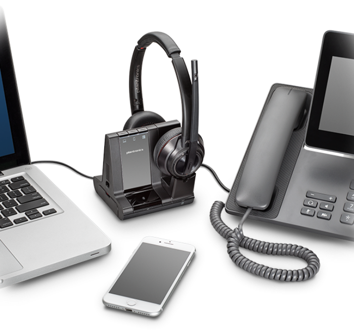 Savi 8200 Office and UC Series - Wireless DECT™ headset system ...