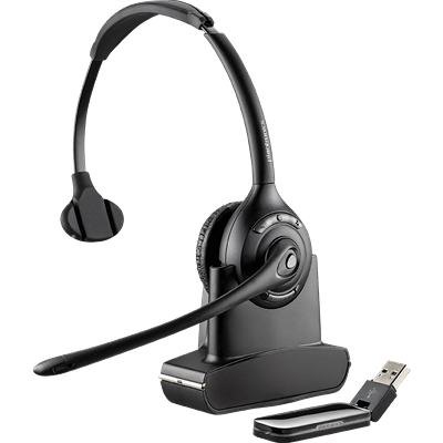 Savi 410, Over-the-head, Monaural, Microsoft