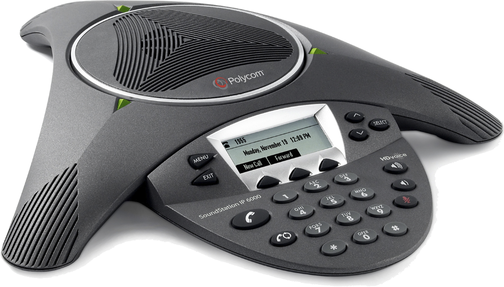 SoundStation IP 6000 - SIP Conference Phone for Small to Mid-Sized Rooms    Poly, formerly Plantronics & Polycom