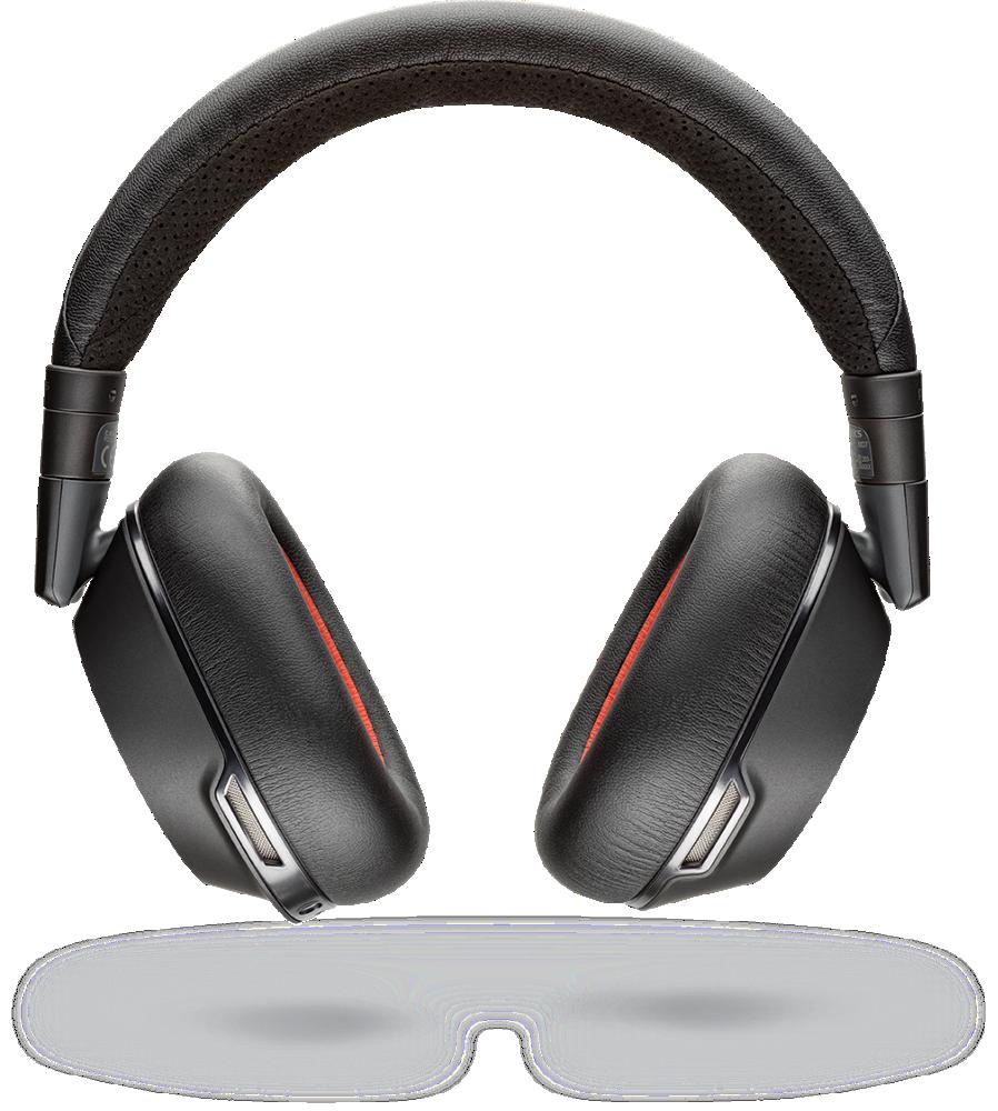 Voyager 8200 UC, USB-C, Black