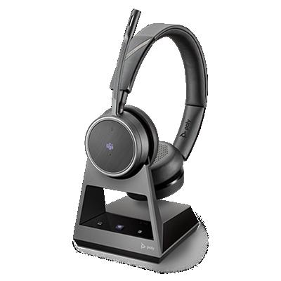 Voyager 4220 Office, 2-Way Base, Microsoft Teams, USB-A