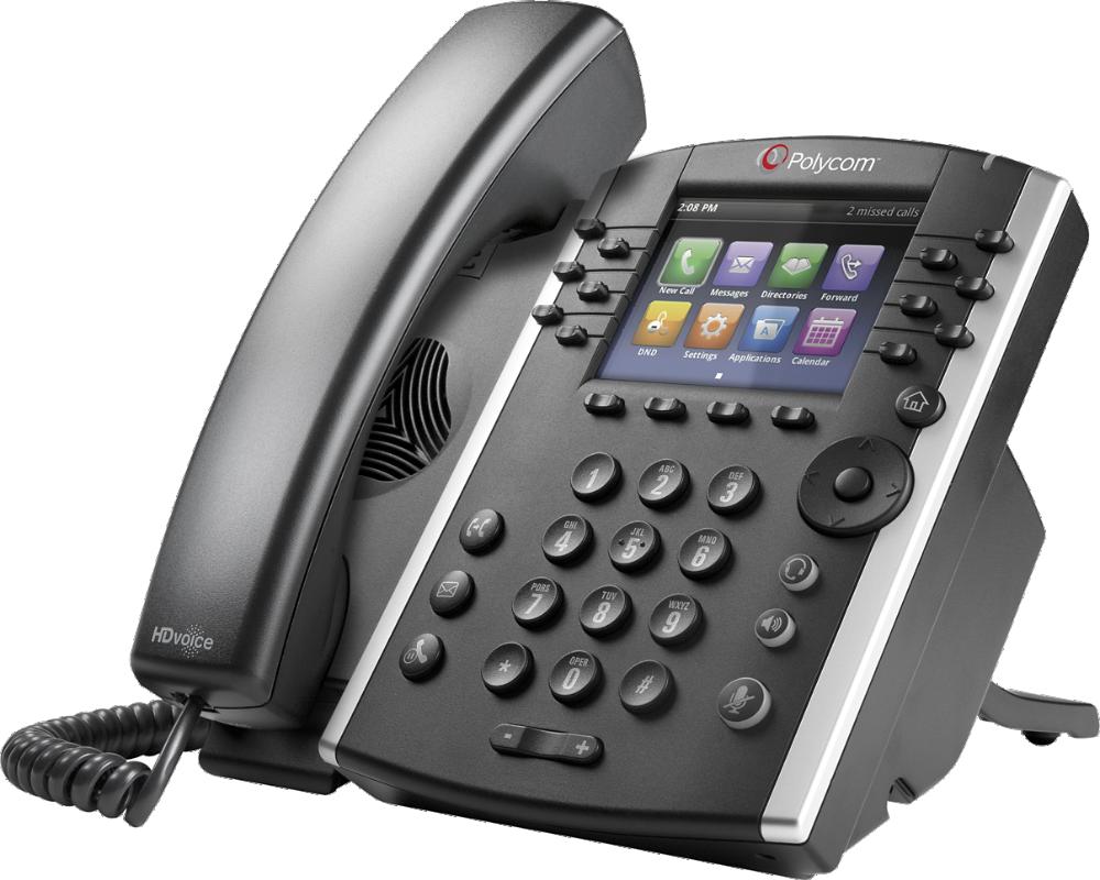 Vvx 401 411 12 Line Voip Cordless Phone Poly Formerly Plantronics Polycom